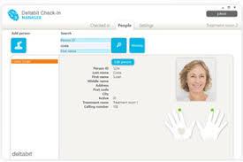 écran fingerprint_deltabit_partenaire SEEmed